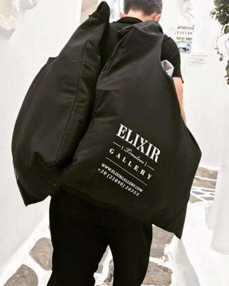 """Βαμβακερή Τσάντα - """"Elixir"""""""