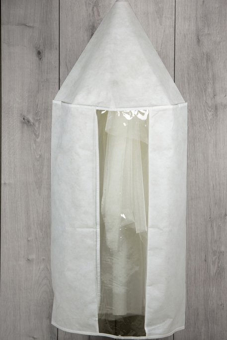 Christening Candle Cover