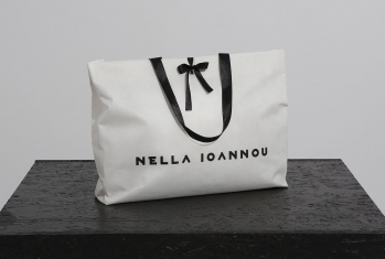 """""""Fancy"""" Bag with ribbons"""