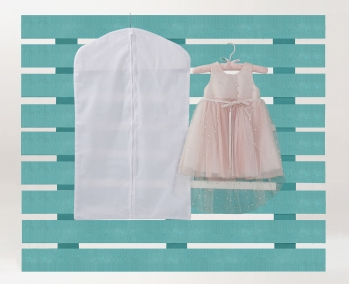 Cotton Cover for Christening Clothes