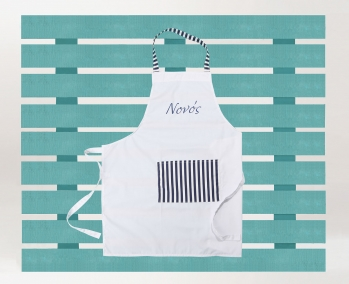 Godfather Apron with embroidery