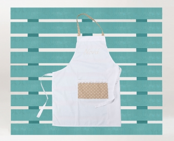 Godmother Apron with embroidery